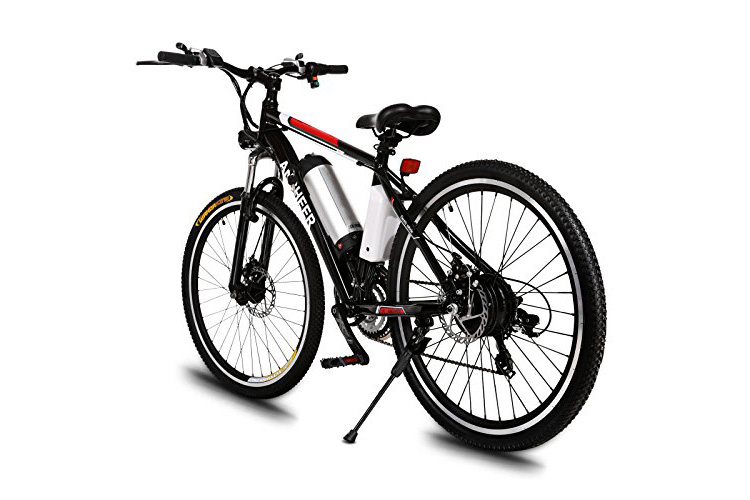 Ancheer Power Plus Electric Mountain Bike With Removable Lithium Ion