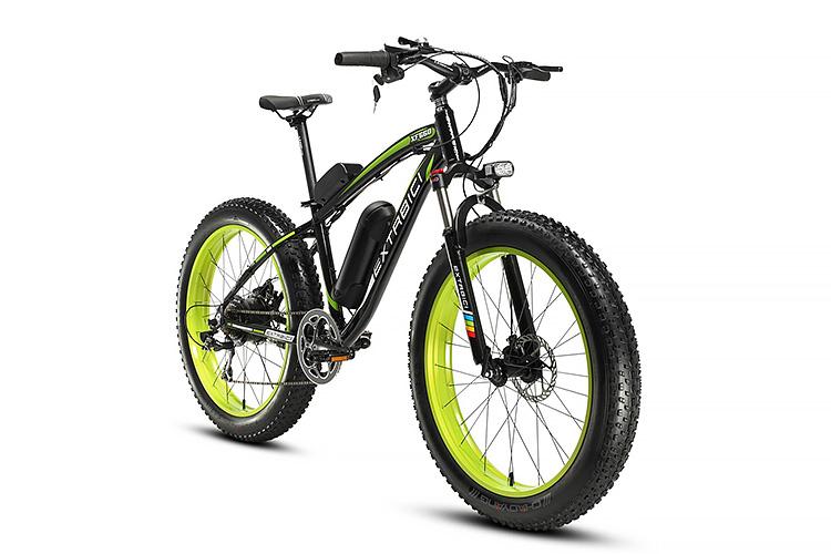 Cyrusher Fat Tire Mountain Bike | GearScoot