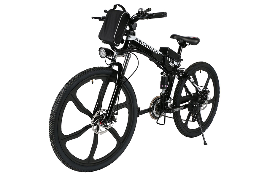 ANCHEER Folding Electric Mountain Bike with 26\