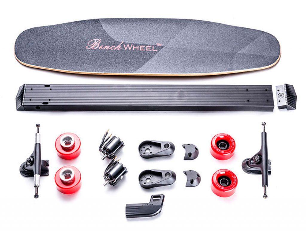 Benchwheel Dual 1800w Electric Skateboard B2 Gearscoot