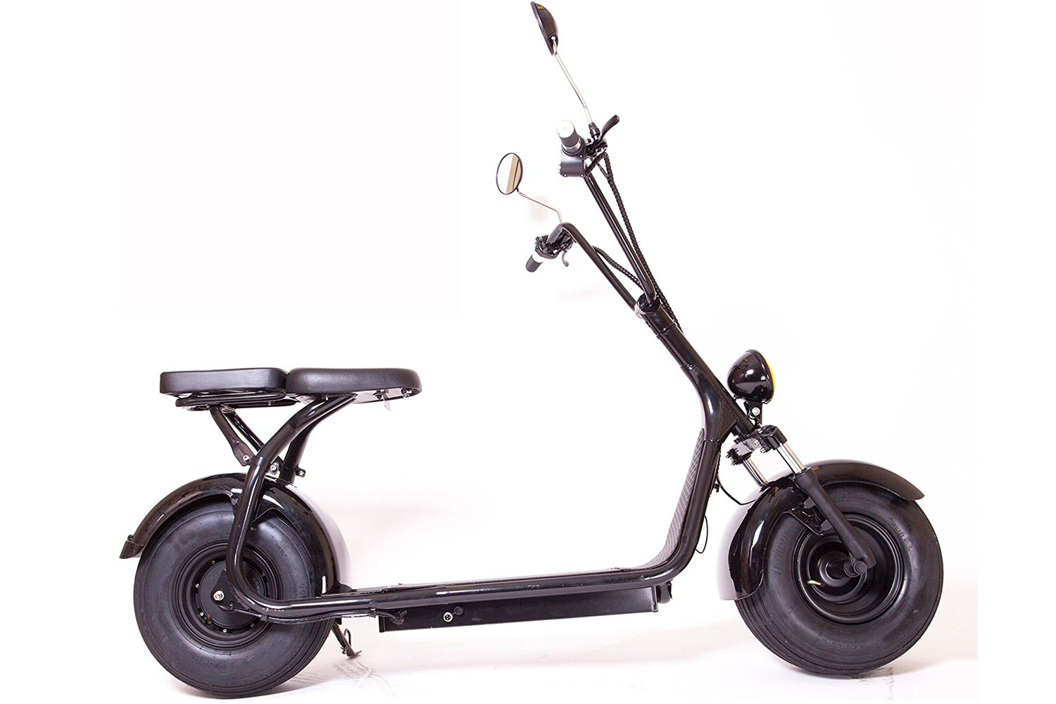 E-Drift UH-ES295 electric scooter review, fat tyre scooter ...