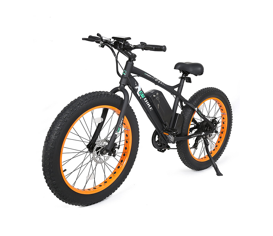 E-go Fat Tire Electric Bike Beach Snow Bicycle 4.0 inch