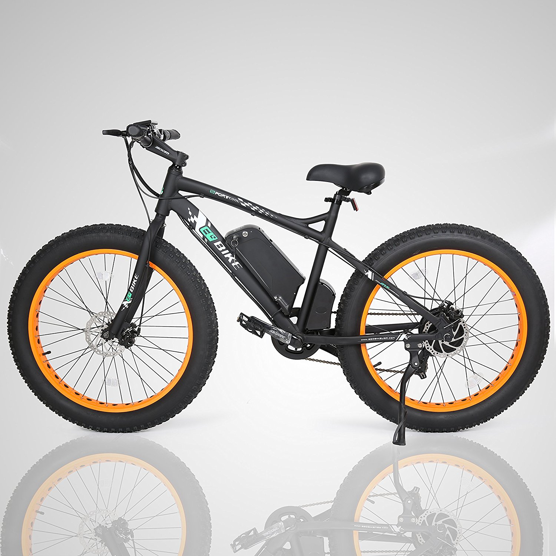 E Go Fat Tire Electric Bike Beach Snow Bicycle 4 0 Inch