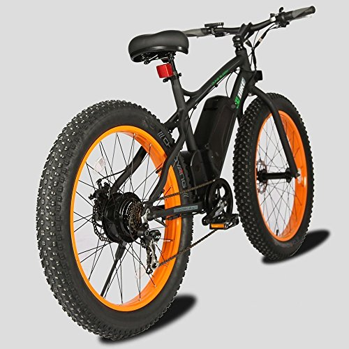 E Go Fat Tire Electric Bike Beach Snow Bicycle 4 0 Inch