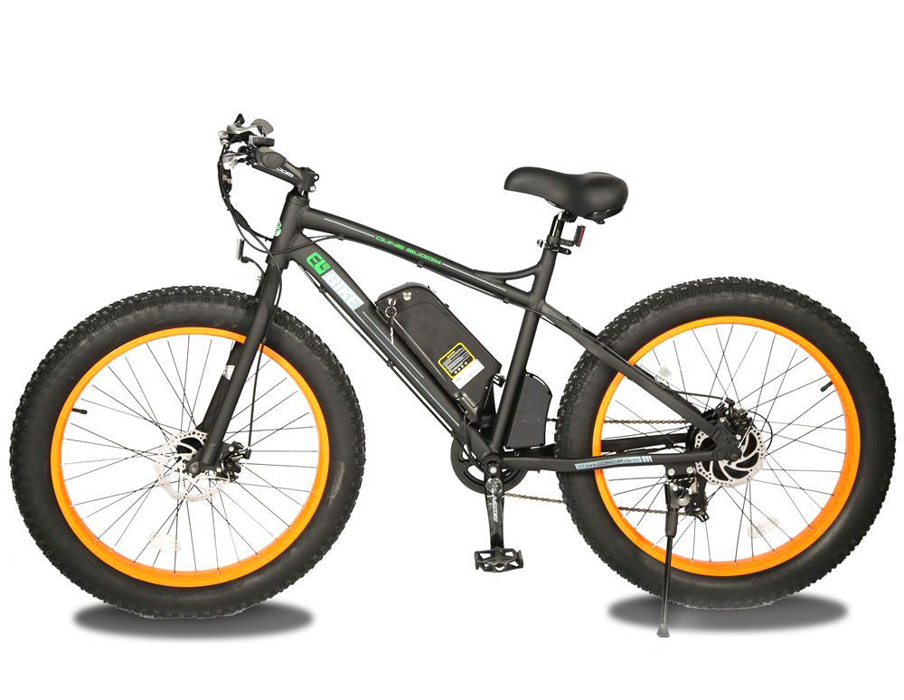 Ego Bike 26 Quot Fat Tire Snow Beach Mountain Electric Bicycle