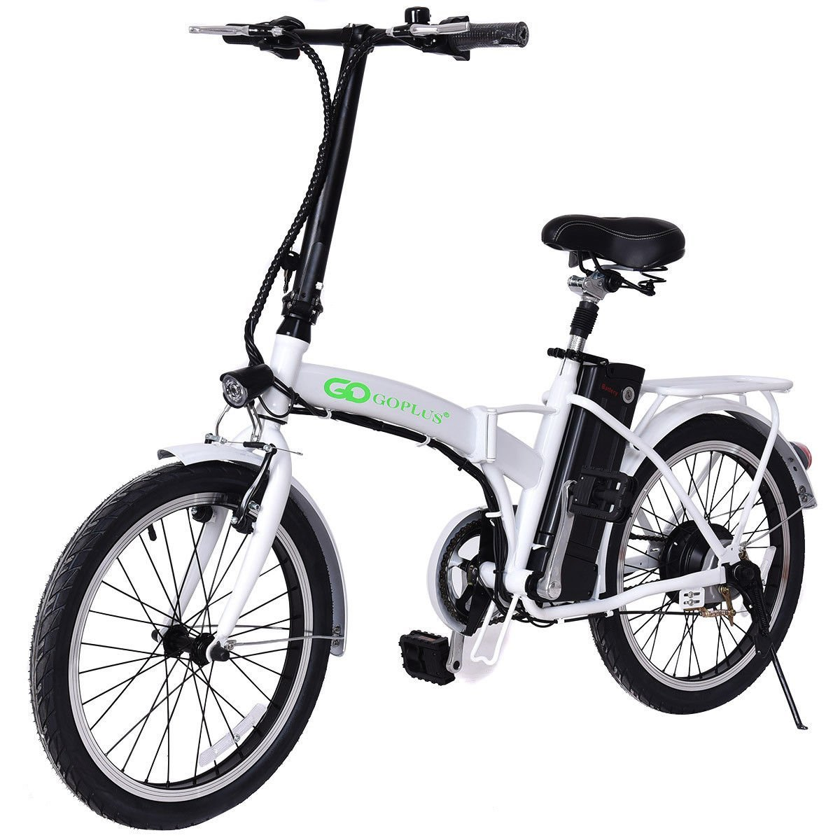 goplus 20 250w folding electric bike gearscoot. Black Bedroom Furniture Sets. Home Design Ideas