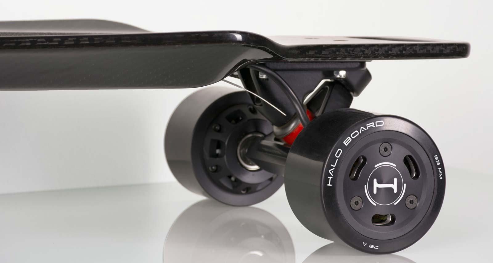 Halo Board Carbon Fiber Electric Skateboard 22 Mph 3000w