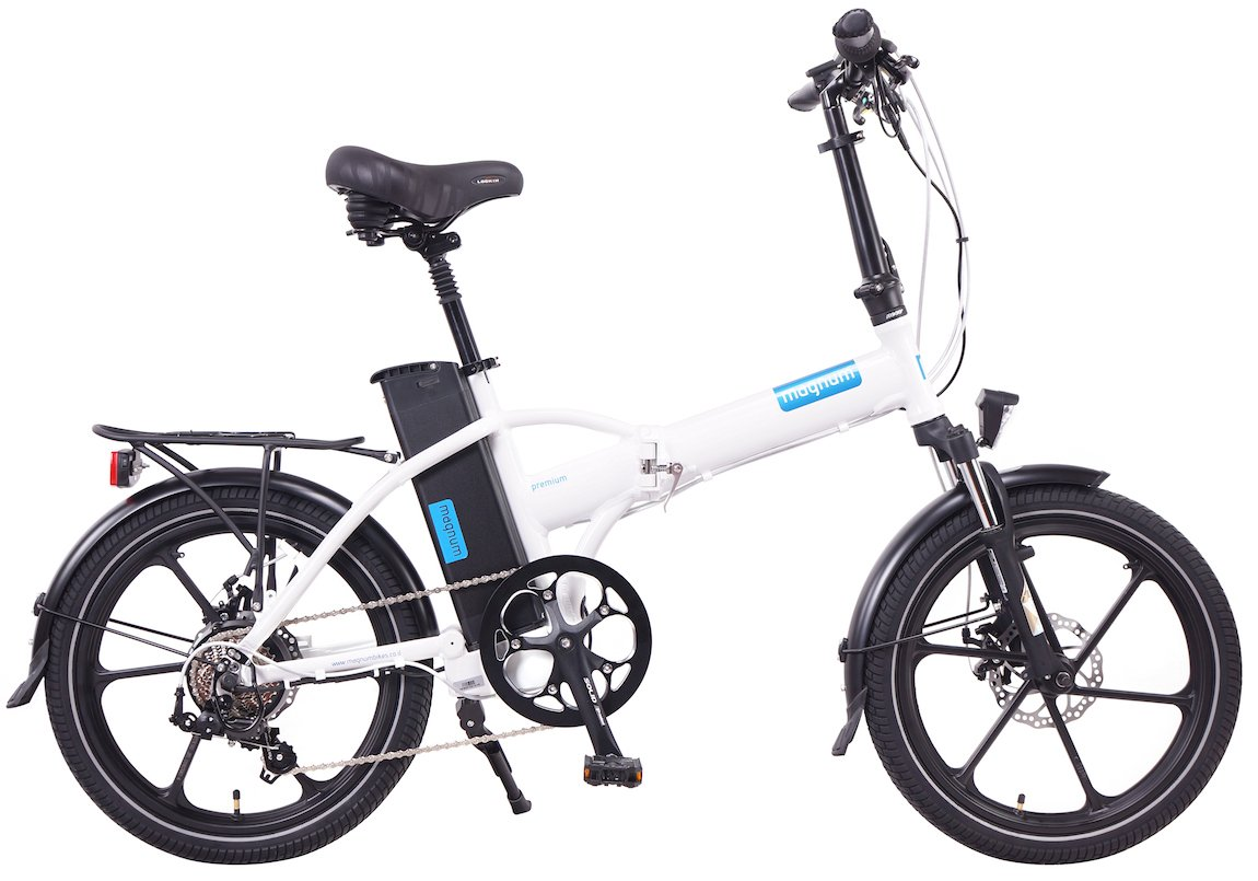 magnum bikes premium 48v full power folding electric bike 500w gearscoot. Black Bedroom Furniture Sets. Home Design Ideas
