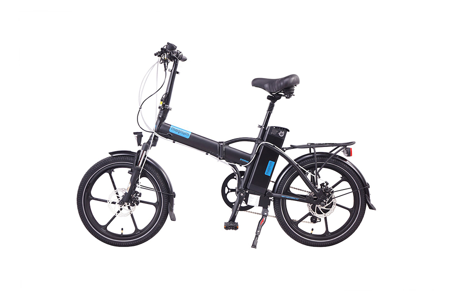 magnum bikes premium 48v full power folding electric bike. Black Bedroom Furniture Sets. Home Design Ideas