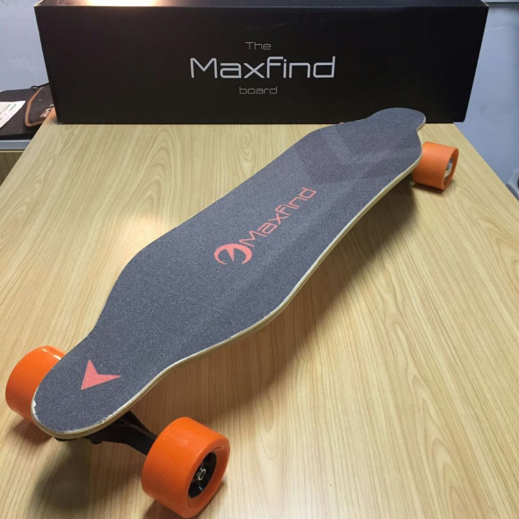 Maxfind MaxA Electric Skateboard with Dual Hub Motor  GearScoot