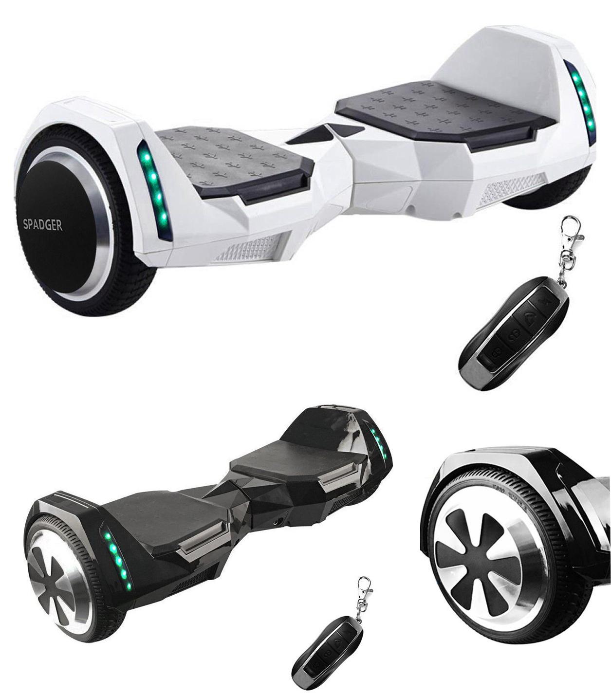 spadger self balancing scooter ul2272 certified electric. Black Bedroom Furniture Sets. Home Design Ideas