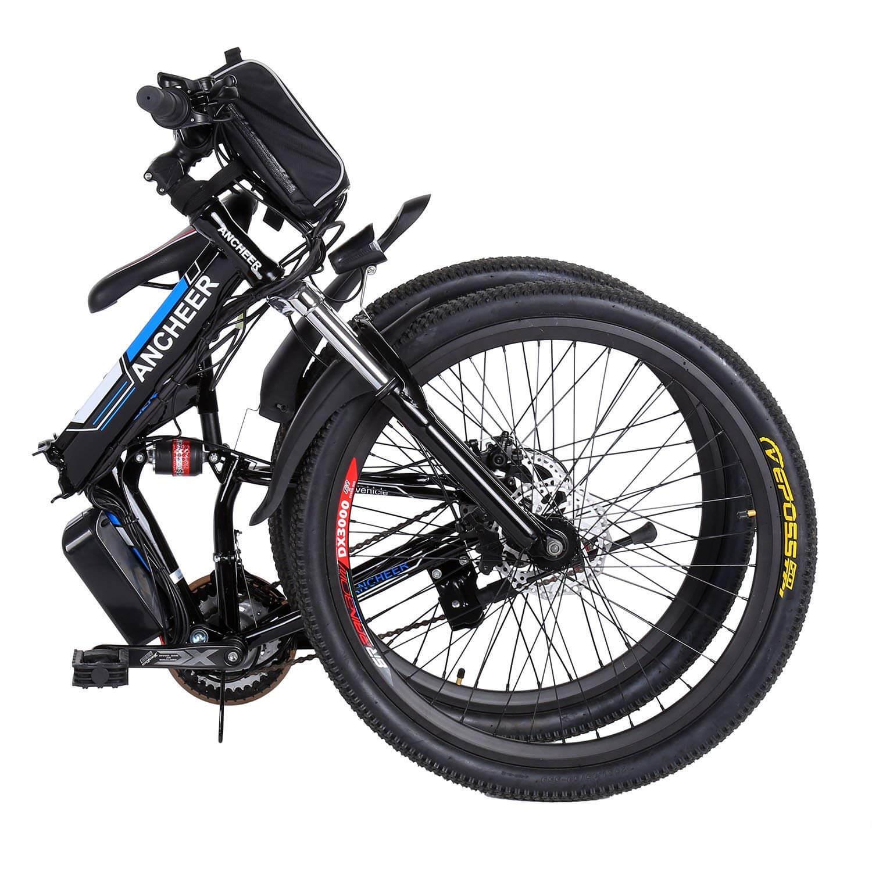 Bmw Bike: ANCHEER Folding Electric Mountain Bike With 26 Inch Wheel