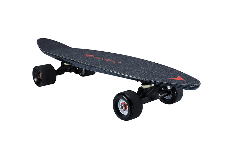 Maxfind 27 inch Electric Skateboard, World's Most Portable Motorized Penny Board