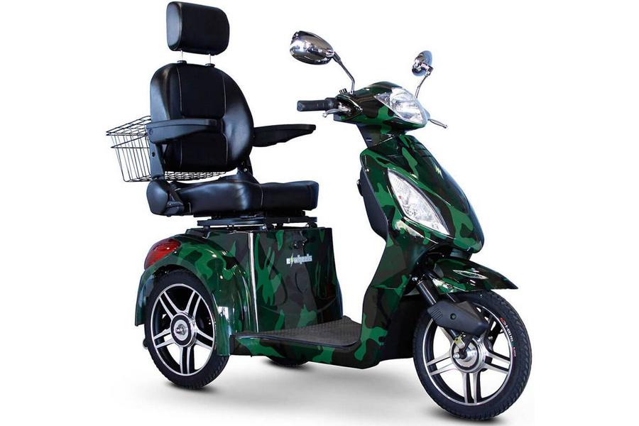 E-Wheels EW-36 3-Wheel Electric Senior Mobility Scooter ...