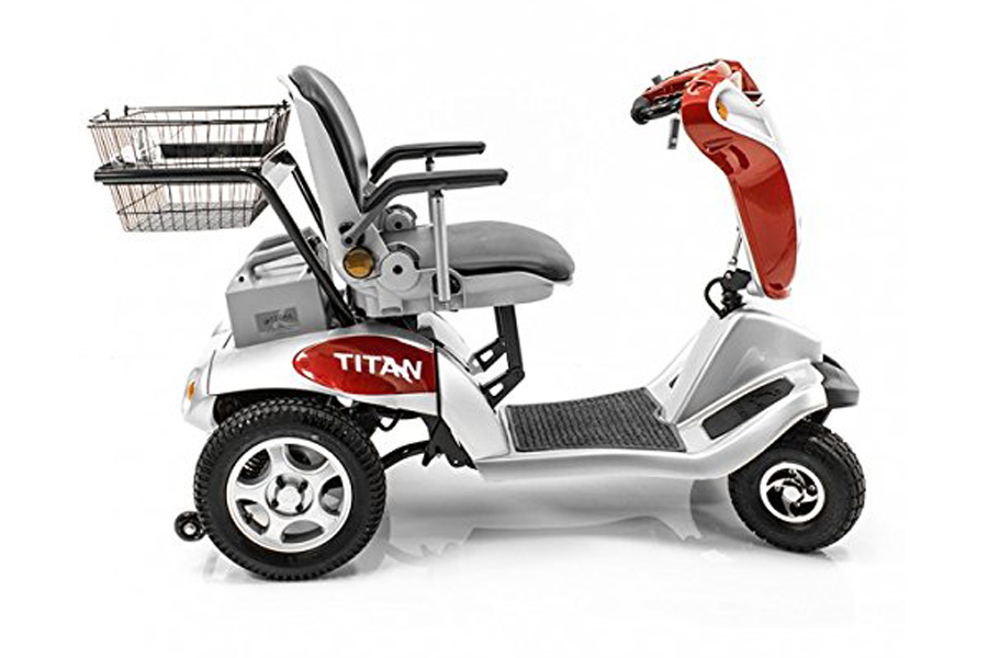Hummer Xl Folding 4 Wheel Electric Mobility Scooter
