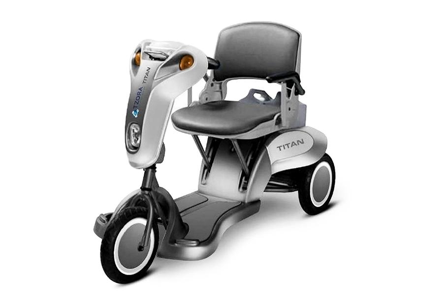 Tzora Titan - Folding 3 Wheel Lightweight Electric ...