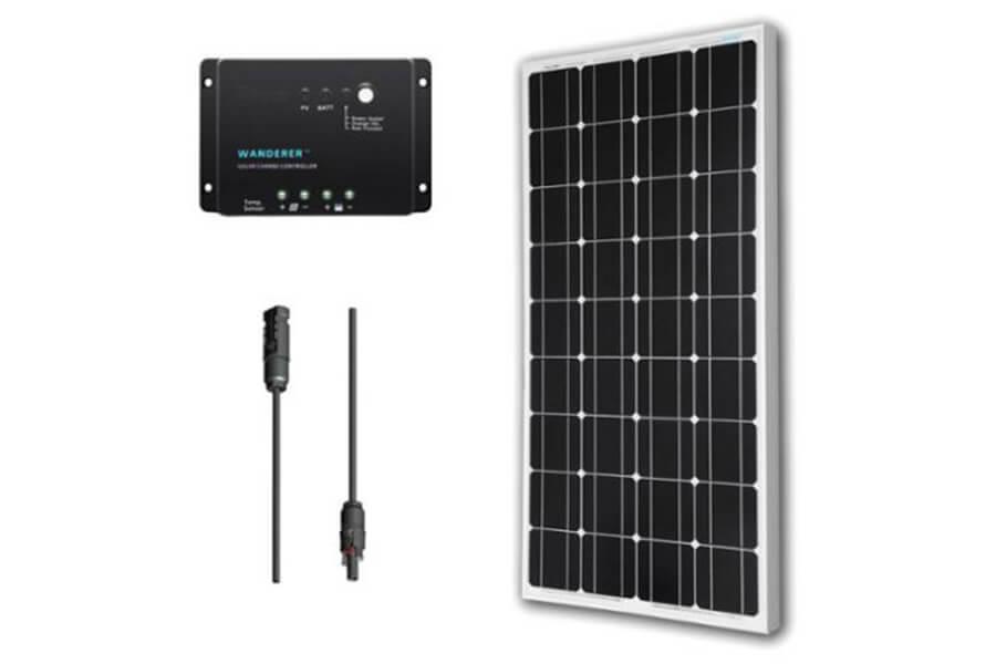 Renogy Solar Panel Kit 100w Monocrystalline 12v Solar