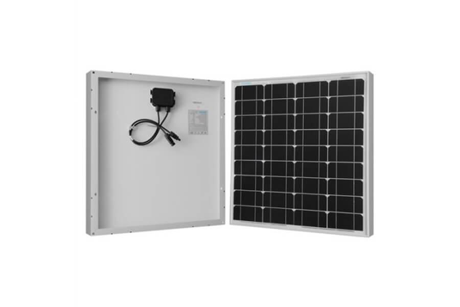 Renogy 50w 12v Solar Panel Monocrystalline Off Grid