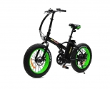Addmotor MOTAN Electric Folding Bicycle 20Inch Fat Tire 500W 48V