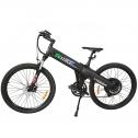 E-go Electric Bike Matt Black Electric Bicycle Mountain 500w