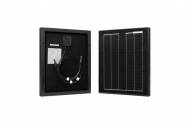 Renogy 20W 12V Solar Panel Monocrystalline Off Grid Battery Charging for RV/Boat/Cabin Applications